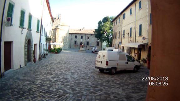 ingresso piazza san leo