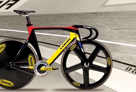bici da pista in carbonio