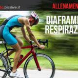 Allenamento bici: diaframma e respirazione diaframmatica